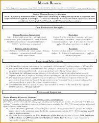 Sample Resume For Hr Sample Hr Resumes for Hr Executive Best Of 60 New Sample Hr Resumes 37