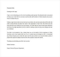 Letter Of Gratitude To Boss Thank You Letter For Appreciation 10 Free Word Excel Pdf Format