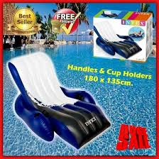 inflatable pool furniture. inflatable pool chair water raft float large sea beech recliner sun lounger lake furniture
