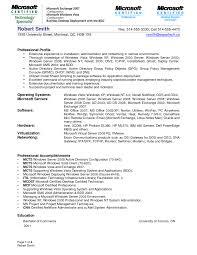 System Administrator Resume Doc Vinodomia