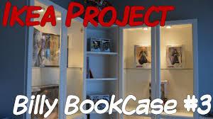 ikea usa lighting. Ikea Project Billy Bookcase Youtube Corner Bookshelves Shelf Usa Full Size Lighting