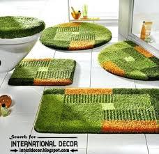 3 piece bathroom rug sets 5 spectacular design set black