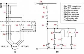 can you show a connection diagram for a star delta motor quora when s1 push button is pressed k4 timer gets energized and it operates the star contactor k2 and then main contactor k1 the motor starts in the star