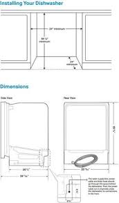 samsung dishwasher installation. Brilliant Samsung Samsung Dimenions Guide In Dishwasher Installation H