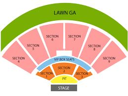 Starlake Amphitheater Seating Chart Keybank Seating Keybank Pavilion Seating Chart Niagara
