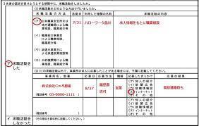 失業 認定 申告 書 求職 活動