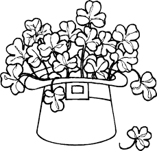 Small Picture shamrock coloring page pdf Archives Best Coloring Page