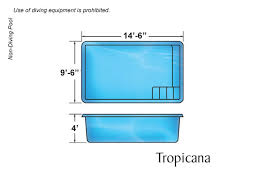 rectangle above ground pool sizes. Tropicana Rectangular Inground Pool Design Rectangle Above Ground Sizes