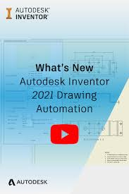 See more ideas about technical drawing, mechanical i know this is a solidworks attribute, but is there a way to do this on autocad? What S New In Inventor 2021 Drawing Automation Autodesk Inventor Autodesk Automation