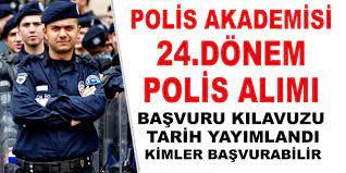 Polis Akademisi 24.Dönem POMEM Polis Alım Başvuru Şartları