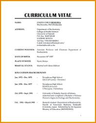 Normal Resume Format Elegant Normal Resume Format Download Free