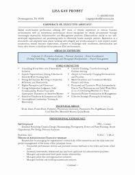 Office Assistant Resume Sample New Admin Assistant Resume Legal