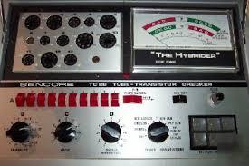 Sencore the hybrider TC28 tube-transistor checker tc-28