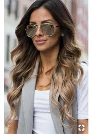 Dark Brunettebrown Hair With Balayageblack And