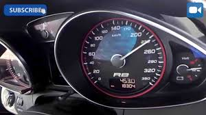 Audi R8 V10 Spyder MTM 606 HP GREAT! 0-255 km/h LAUNCH CONTROL ...