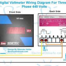 3 phase 440 volt wiring schematic diagrams 440 Volt Wiring Wire Size digital 3 phase voltmeter connection diagram for 440 volts testing 440 volt 3 phase wiring diagram 3 phase 440 volt wiring