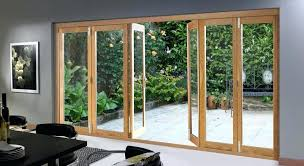 accordion glass doors folding sliding interior
