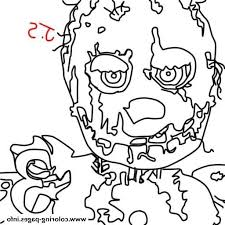 Fnaf Coloring 3jlp Fnaf Coloring Pages Golden Freddy At Getcolorings