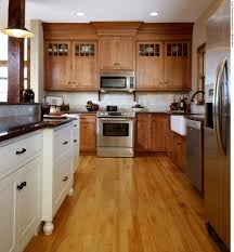 Mixing Kitchen Cabinet Wood Colors Kitchen Cabinet