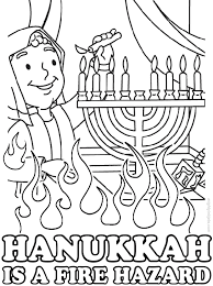 Happy Hanukkah Coloring Pages Free To Print Coloringstar