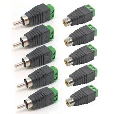online buy whole rca jack wiring from rca jack wiring 10 pcs high quality speaker wire cable to audio male female rca connector adapter jack