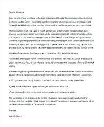 Volunteer Cover Letter Samples Volunteer Cover Letter Hospital Volunteer Cover Letters Hospital