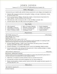Office Manager Resume Template Everything Of Letter Sample