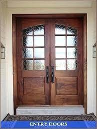 double front door. Double Wooden Front Doors For Homes . Door P