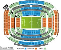 Reliant Stadium Soccer Seating Chart Sports Events 365 Group Stage Colombia Vs Costa Rica Nrg