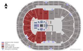Centre Videotron Seating Chart