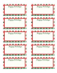 Free Printable Christmas Gift Tags Templates Christmas