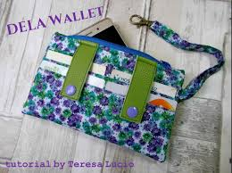 Free Wallet Sewing Pattern Magnificent Decorating Design