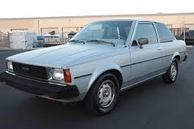 Sin City Silver Sedan: 1981 Toyota Corolla Sedan