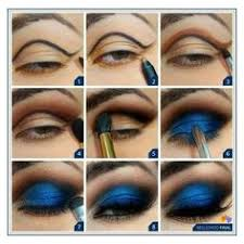deep blue eye shadow tutorial liked on polyvore featuring beauty s makeup eye
