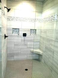shower non tiled shower ideas what is the best tile for a wall glass designs