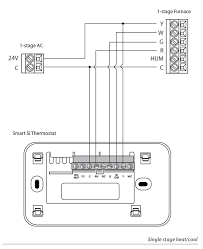 how to install 4 wire to 5 wire thermostat lovely ecobee3 humidifier 5 wire thermostat wiring diagram how to install 4 wire to 5 wire thermostat lovely ecobee3 humidifier wiring diagram wiring solutions