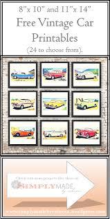 Free Cars Printables Free Vintage Car Printables