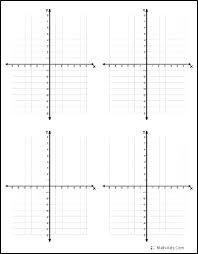 4 Quadrant Grid Math Four Quadrant Coordinates Worksheet