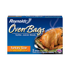 Reynolds Turkey Bag Cooking Chart Reynolds Csize