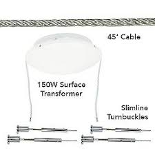 track lighting kits cable. kable lite surface kit 150 watt track lighting kits cable