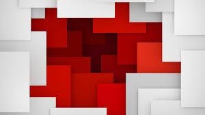 Artistic Geometry Red White 4K 5K ...