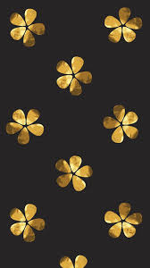 Gold Flower Wallpapers - Top Free Gold ...