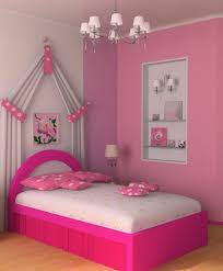 Pink Color Bedroom Bedroom Cool Design Ideas Of Little Girls Bedroom With White
