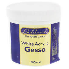 Ge Sso Login White Acrylic Gesso 500ml Acrylic Paint At The Works
