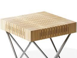 Wood design furniture Minimalist Spring Wood By Carolien Laro Canadel Studio Rolf Saws Dutch Furniture In Half To Create New Furnishings