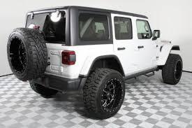 jeep rubicon white.  Rubicon Lifted 2018 Jeep Wrangler Rubicon Custom SUV Near Dallas Intended White P
