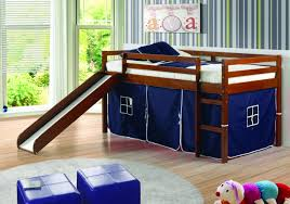 bunk bed with slide and desk. Interesting Bed Tent Loft Bed Slide Crazy Jay Furniture Sleep Shop With Bunk And Desk