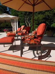 patio furniture that will stay put