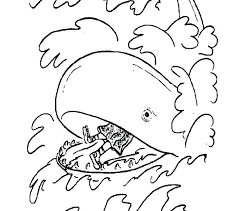 jonah and the big fish coloring page and the big whale coloring page children coloring and jonah and the big fish coloring page