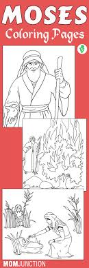 Moses Coloring Pages Free Printables Coloring Pages Preschool